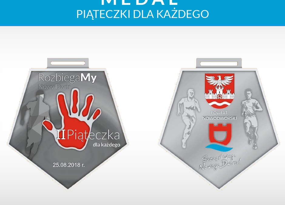 Medale dla wszystkich uczestników !