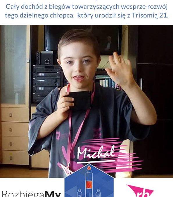 Najmłodsi biegacze pomagają Michałkowi !